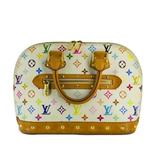 Sac Louis Vuitton Alma en toile monogram multicolore