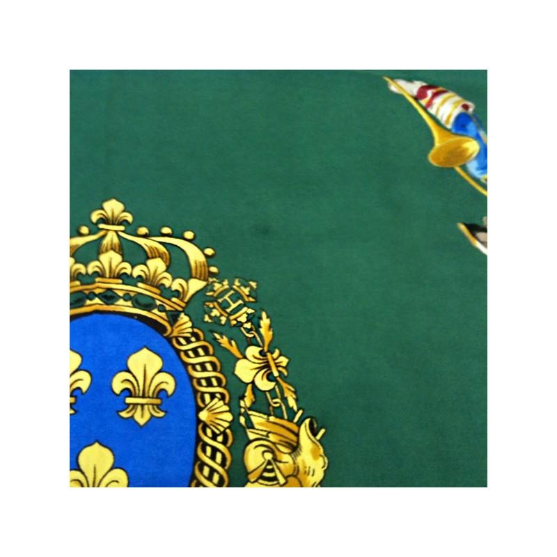 Carré Hermès Grande Vénerie Royale en soie. - Bon état général - b557173c112