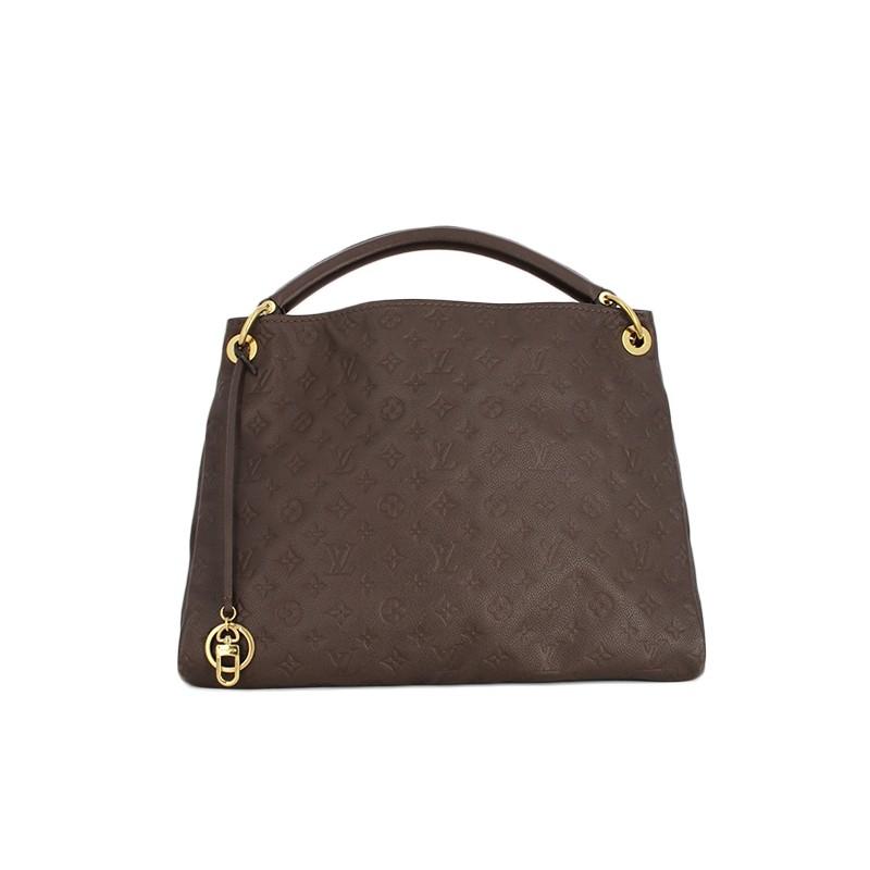 Sac Louis Vuitton Artsy en cuir empreinte chocolat. - Très bon état - c50be67af4b