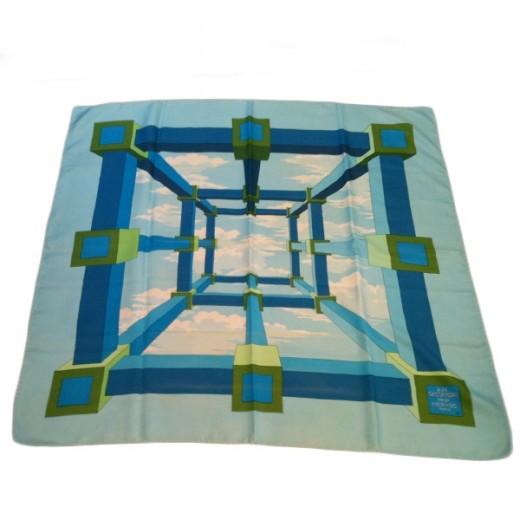 9efcc59f17b8 Carré Hermès Perspective en soie