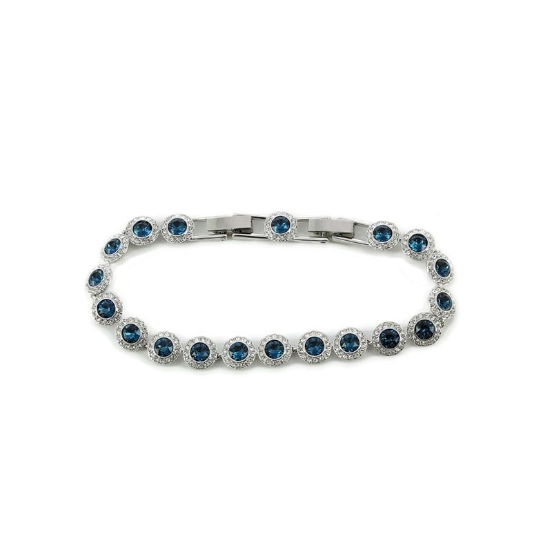Bracelet Swarovski Angelic All around bleu