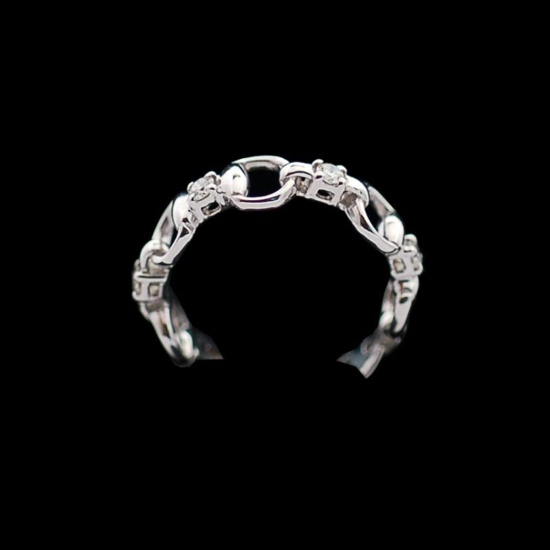 Bague Gucci en or et diamants 76a71276431