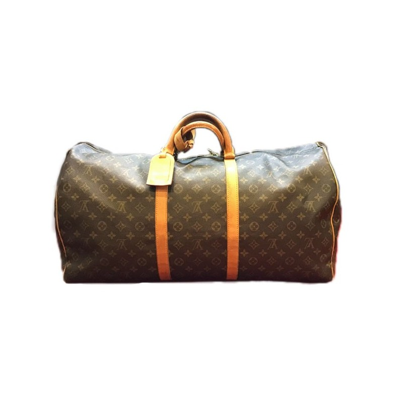 5328b81edacc Sac de voyage Louis Vuitton Keepall 60 en toile monogram. Vendu
