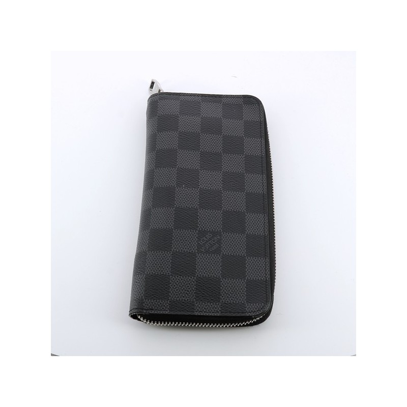 ... Portefeuille Louis Vuitton Vasco en toile damier. - Excellent - c0a169a4db7