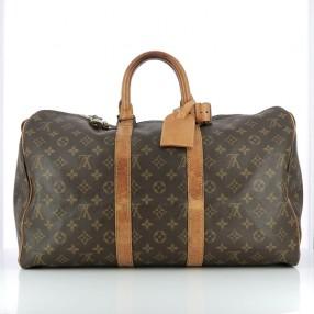 Sac Louis Vuitton Keepall 45 en toile monogram 0f6a1934d19