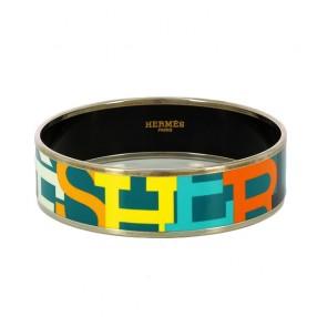 Bracelet Hermès Lettres capitales en émail 6ae2f7eaf2e
