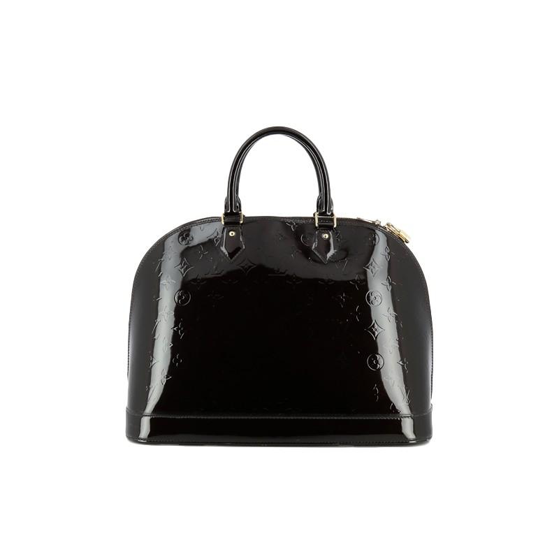 6bf9f1c78ce0 ... Sac Louis Vuitton Alma GM en cuir vernis monogram. Cliquez sur l image  pour lancer l animation