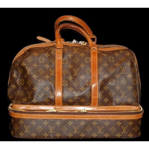 6e4263c50c Sac Louis Vuitton de voyage (avec compartiment à chaussures)(vintage)