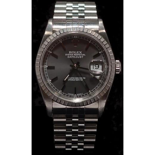 f36a60dc0f9 Montre Rolex Datejust Acier lunette Or gris vendu chez CBBO à Bordeaux