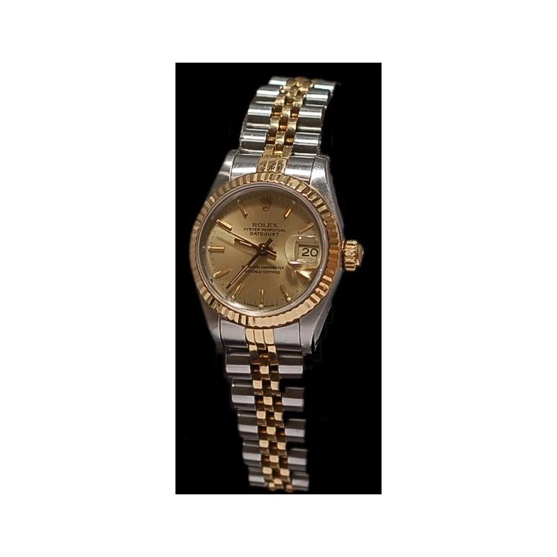 c223735d6b9 Montre Rolex Lady Datejust Or   Acier vendu chez CBBO à Bordeaux