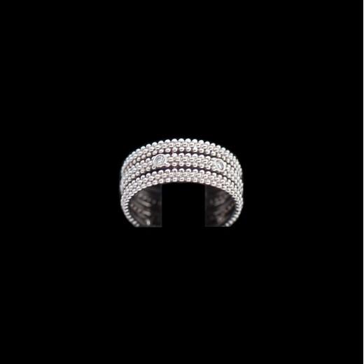meilleure qualité prix réduit promotion Bague Mauboussin Le premier jour en or et diamants