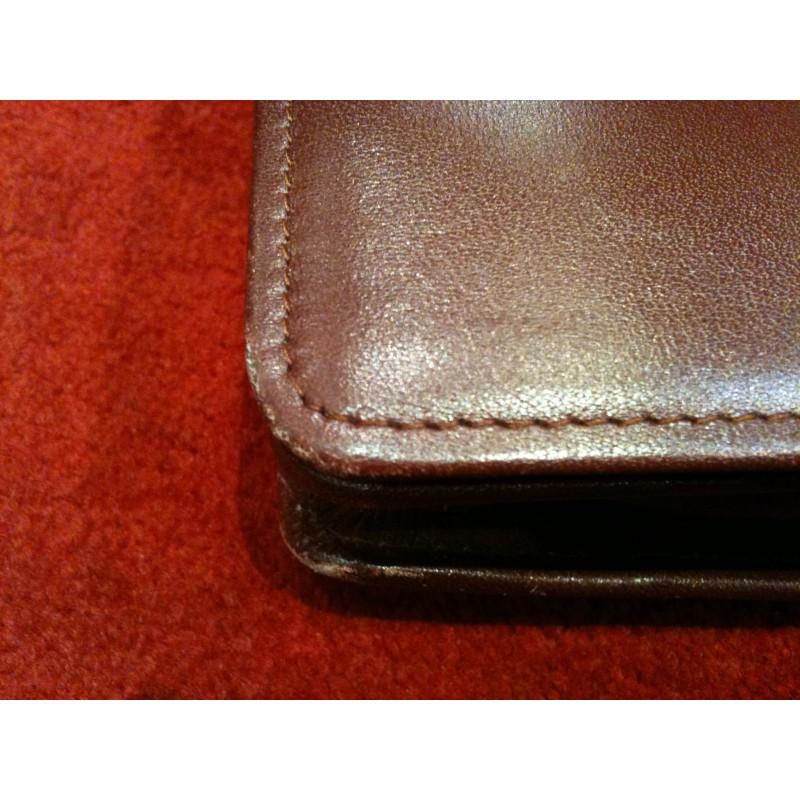 5a363f1205 Sac Cartier Must Vintage cuir bordeaux
